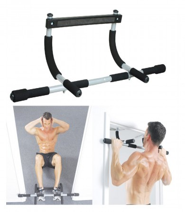 Barras Para Dominadas Y Multifuncional Sport Fitness - Negro