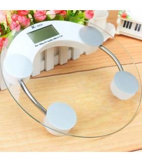 Balanza Digital De Vidrio Circular